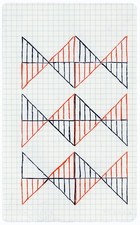 a     n     d     r     e     w            z     a     r     o     u 2014 gel ink on graph paper