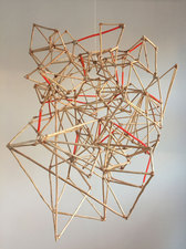 a     n     d     r     e     w            z     a     r     o     u 2015 copper wire, spray paint, adhesive, + wood