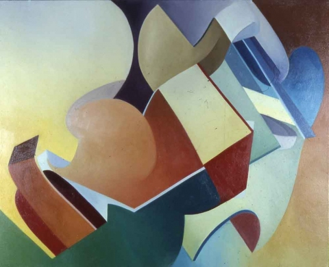 The Migration Series, 1974 to 1980 oil on canvas