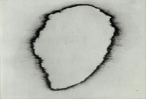 Anita S. Hunt    Void, Hole, Island, Reflection: monprints etching and chine collé