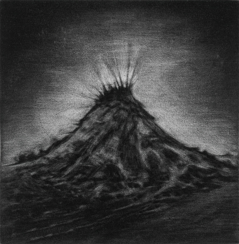 Anita S. Hunt   Mezzotints  fauz mezzotint (sandpaper aquatint)