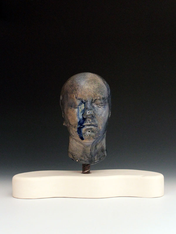 Ceramic Busts Base of Skull Tension