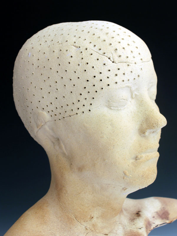 Ceramic Busts Unilateral Pain III