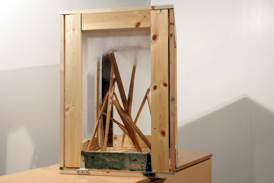 2011 Untitled (Small Towercrate)