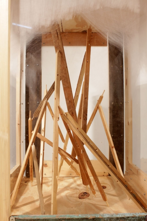 2011 Untitled (Small Towercrate), detail