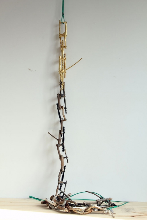2010 Untitled (Handlestick chain)