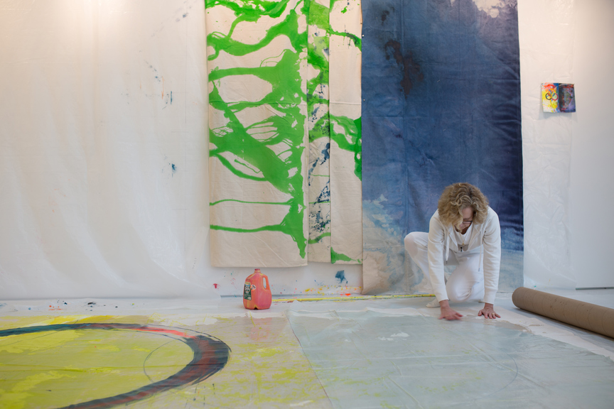 Anne Sherwood Pundyk:  Painting as Theatre of Agency Studio