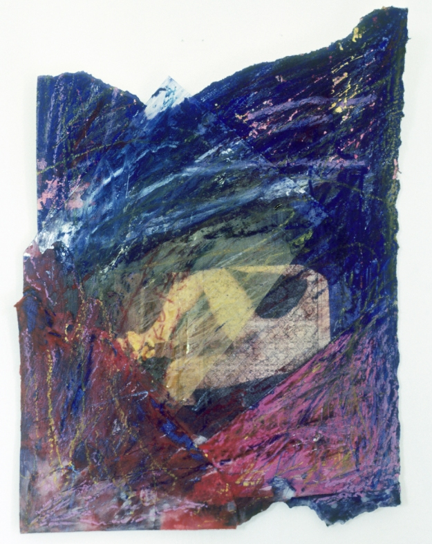 Anne Sherwood Pundyk:  Painting as Theatre of Agency Footnote Mixed Media
