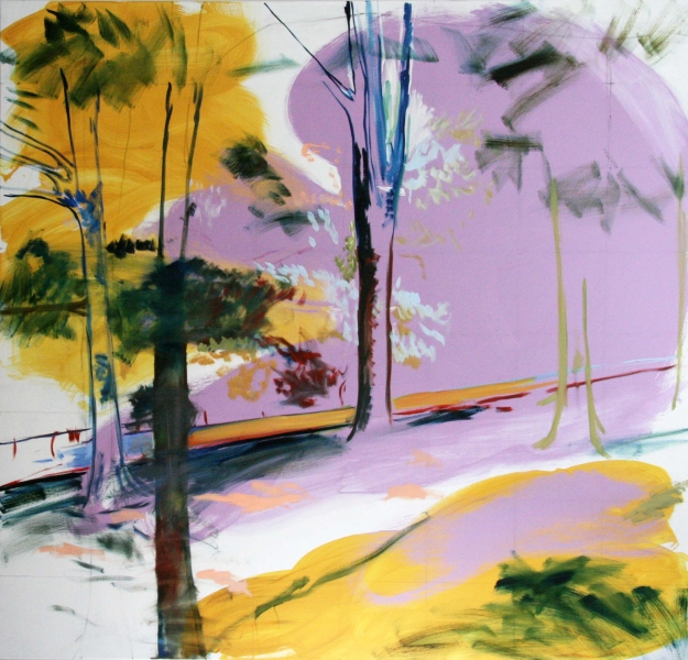 Paintings 2008 - 2011: Self  Diana's Forest