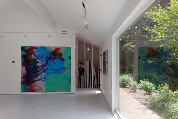 Mattituck Studio, North Fork, November 2014 to Present Anne Sherwood Pundyk studio in Mattituck, NY, designed by Andrew Berman Architect, New York, NY
