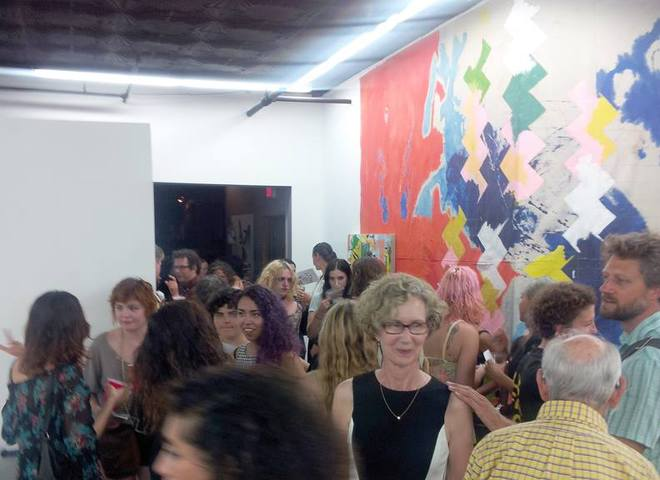"""Milk and Night,"" Group Exhibition, Gallery Sensei, LES, NY, September 2014."