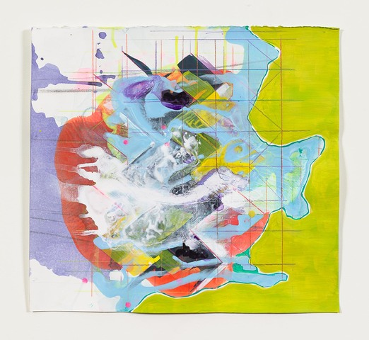 Anne Sherwood Pundyk:   The Revolution Will Be Painted Works on Paper Latex, Acrylic and Colored Pencil on Paper