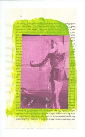 Book-page Collages