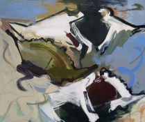 ANNE SEELBACH Shoreline Paintings acrylic on canvas