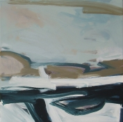 ANNE SEELBACH Shoreline Paintings oil on canvas