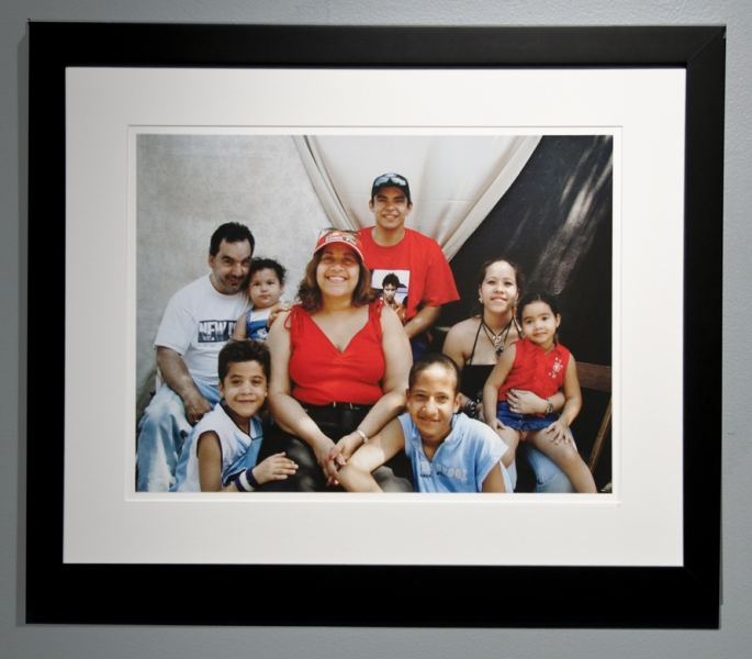 Installation Photographs Five Myles Gallery, In the Presence of Family, detail -