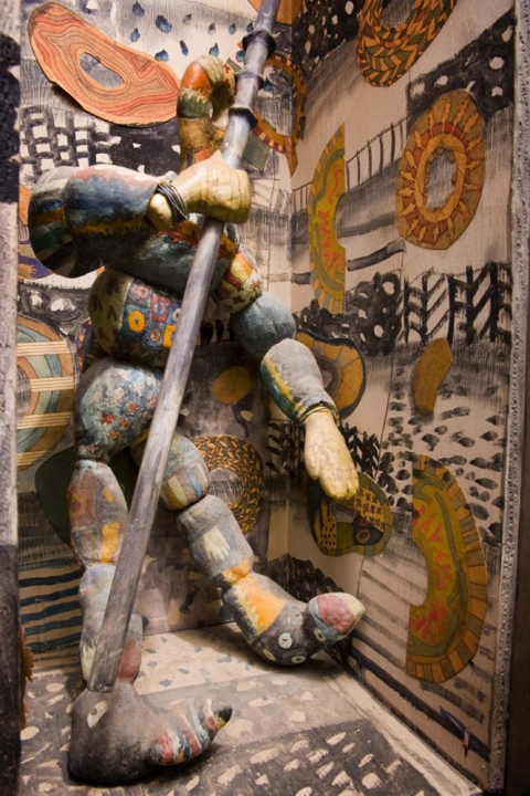 "ANN STODDARD archive: ""conduit"" : sculpture and paintings mixed media"