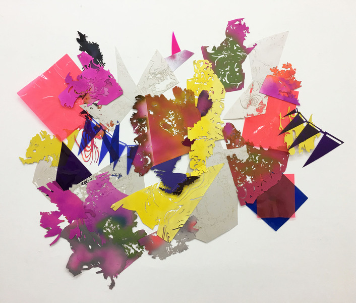 DRAWING + COLLAGE Color Wheel