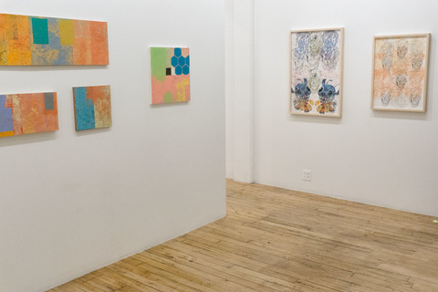 ANTHONY CUNEO Installation Views, <i>Traces</i> The Painting Center, New York, NY