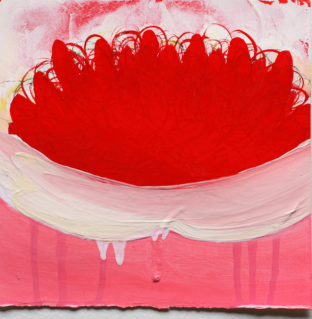 Anya Spielman Works on Paper Oil no Paper