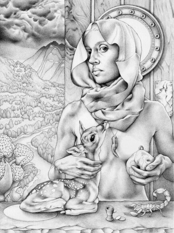 Arhia Kohlmoos Drawings Graphite on paper