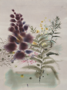 arienne lepretre Bloom Sumi Ink, Dye, graphite on paper