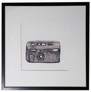 ART FOR FILM - great cleared art rental for film, television and commercials Joan Linder (LINJOA) pen & ink on paper