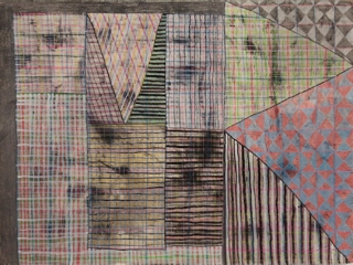 ART FOR FILM - great cleared art rental for film, television and commercials Laurel Sparks (SPALAU) colored pencil, graphite, marker, pigment, ink on paper