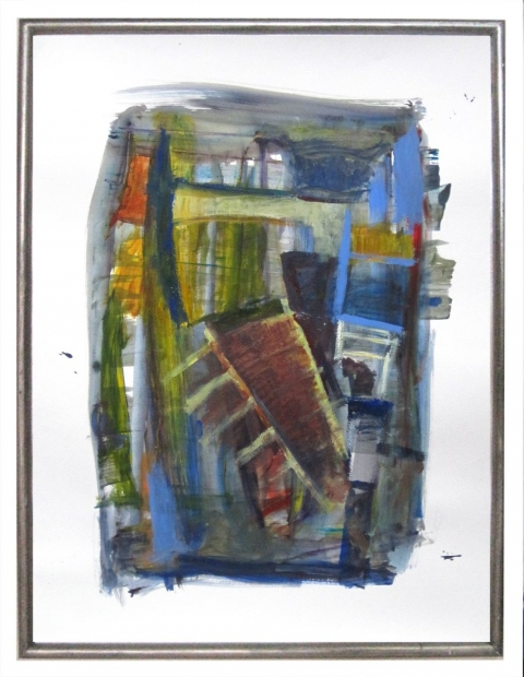 ART FOR FILM - great cleared art rental for film, television and commercials Robert Petrick (PETROB) acrylic on paper