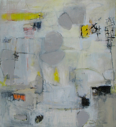 ART FOR FILM - great cleared art rental for film, television and commercials Elizabeth Schuppe (SCHELI) acrylic on canvas