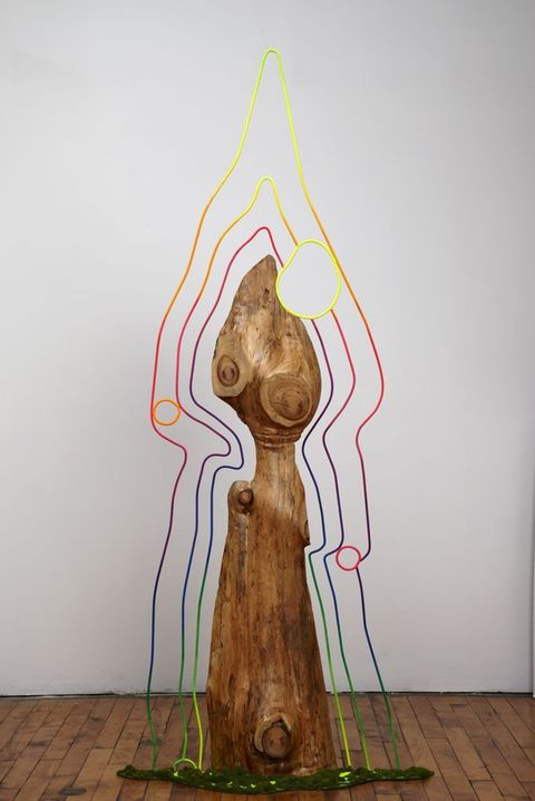 ART FOR FILM - great cleared art rental for film, television and commercials sculpture wood, steel, paint, epoxy, flocking