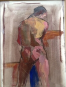 ART FOR FILM - great cleared art rental for film, television and commercials painting - figurative oil on panel