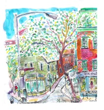 ART FOR FILM - great cleared art rental for film, television and commercials drawing, collage, mixed media, & watercolor