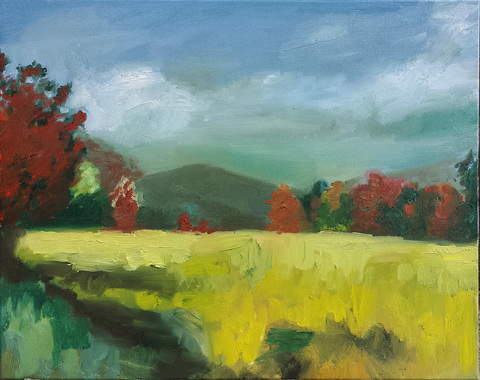 ART FOR FILM - great cleared art rental for film, television and commercials painting - landscape & still life oil on canvas