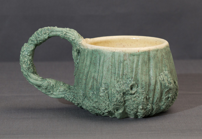 P O T T E R Y Sage Green Cup