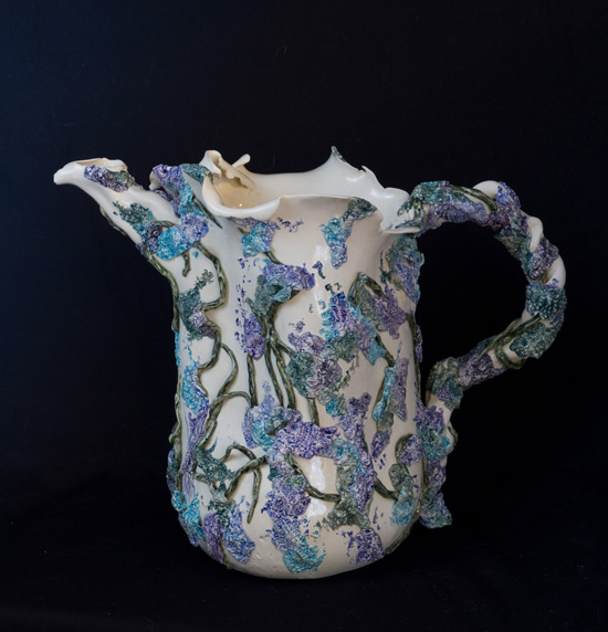 P O T T E R Y Faerie Water Pitcher