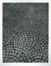 Aspinwall Editions Cobblestones Collagraph