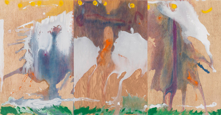 Aspinwall Editions Helen Frankenthaler Aquatint, woodcut and pochoir