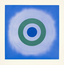 Aspinwall Editions Kenneth Noland Aquatint and soft-ground etching