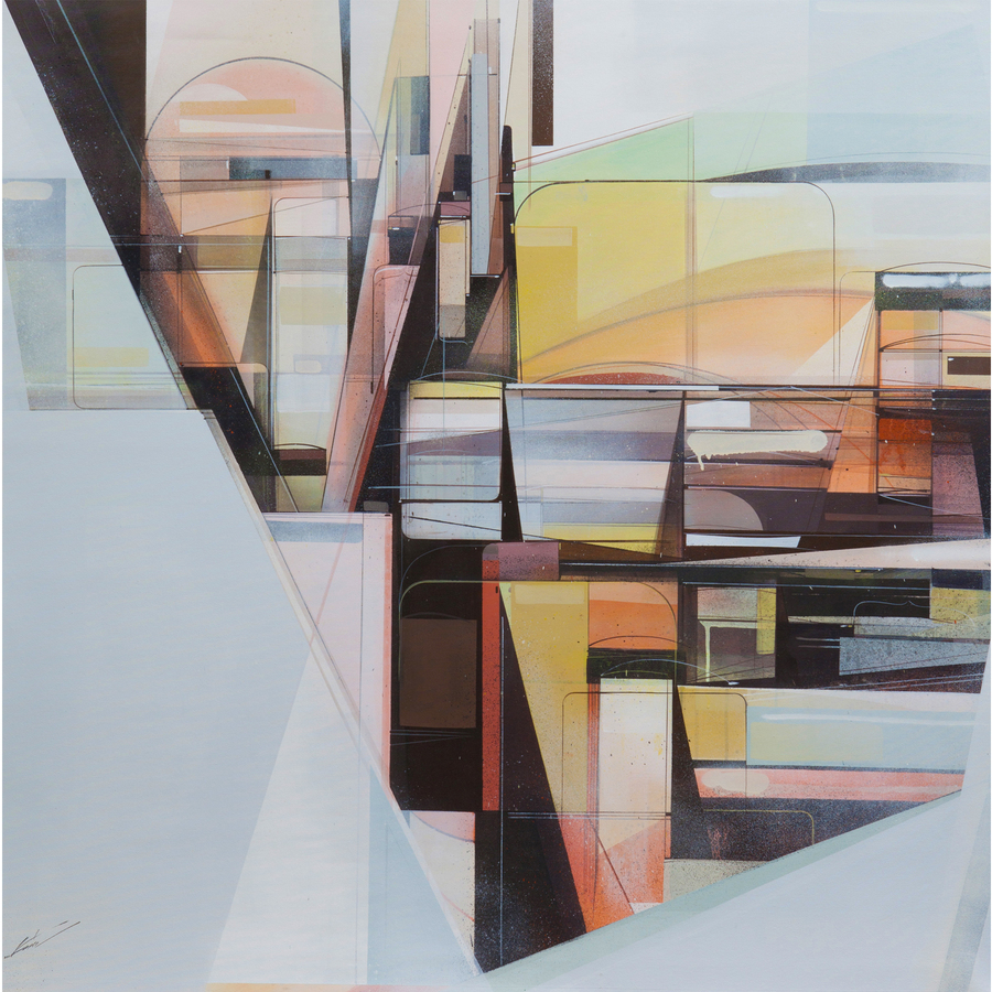 Paintings Manifest Horizon No. 01, 2013