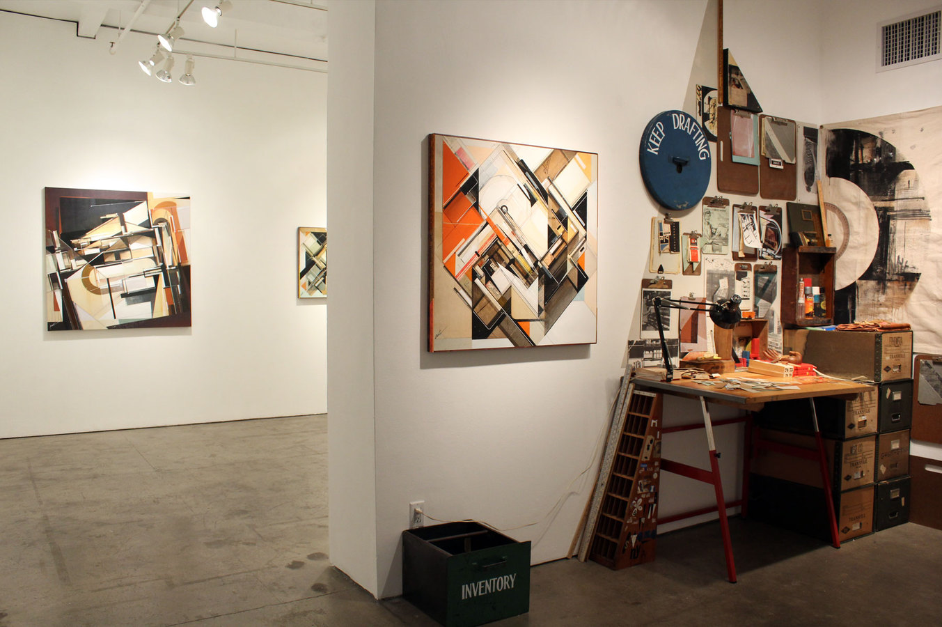 I N V E N T O R Y INVENTORY on site installation view