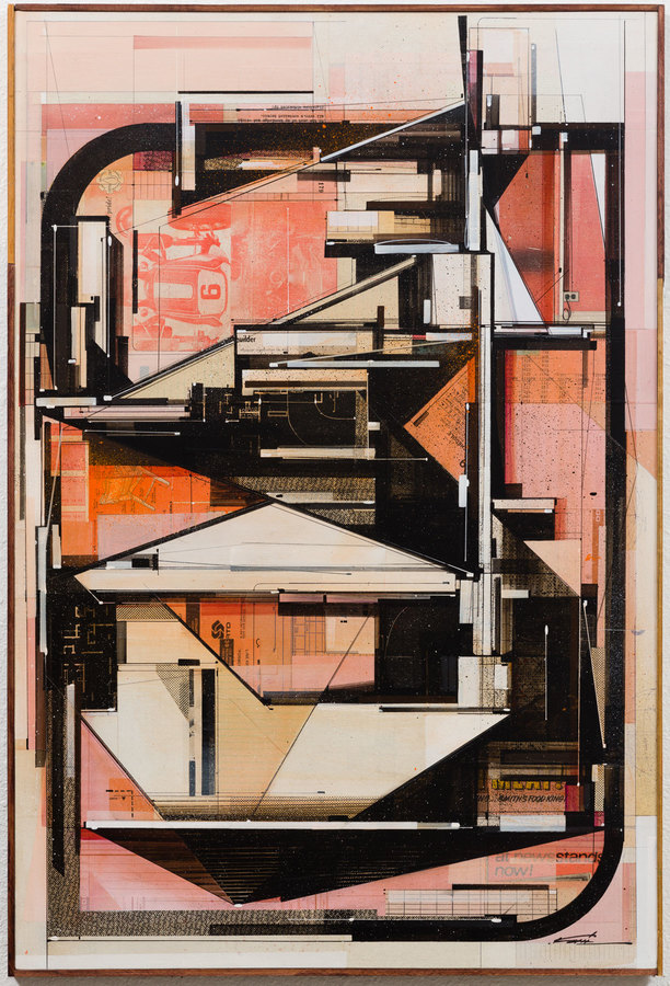 Collage Now builder blush, 2017