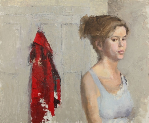 Avital Burg Portraits Oil on Linen Mounted on Wood