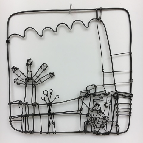 BARBARA GILHOOLY Wire Drawings