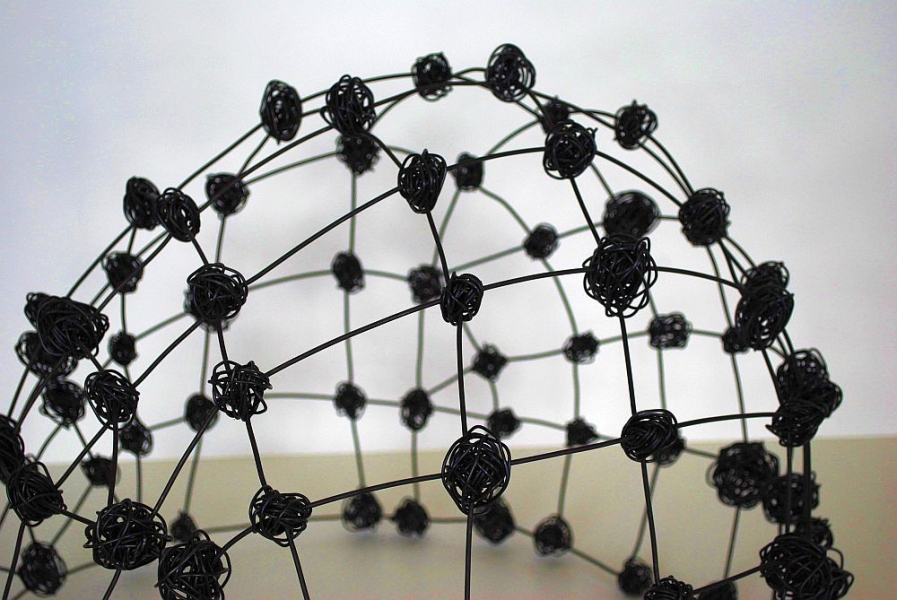 Wire Domes detail-Wire Dome II
