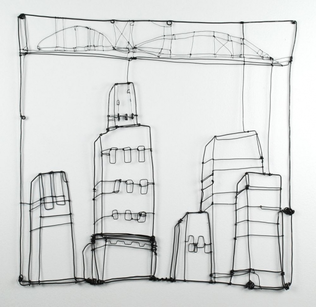 Wire Drawings Cityscape I