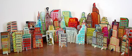 Pop-Up City Installation