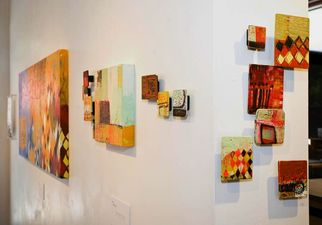 Instalation view of solo show 'Pattern Language'