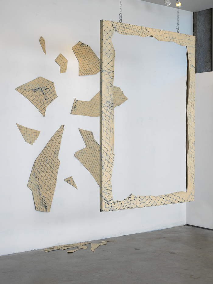 Barbara Eskin Net Reconfigured at Galatea