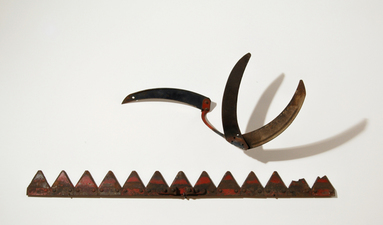 Barbara Lubliner Art & Alchemy welded steel, transformed farm implements